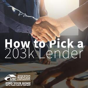 203k Loan Lender