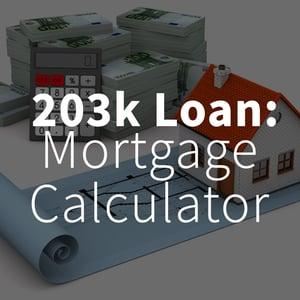 203k Loan Mortgage Calculator