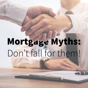 mortgage myths blog