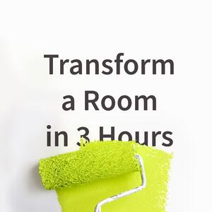 Transform a room blog