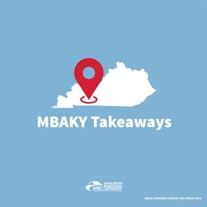 MBAKY Takeaways Blog