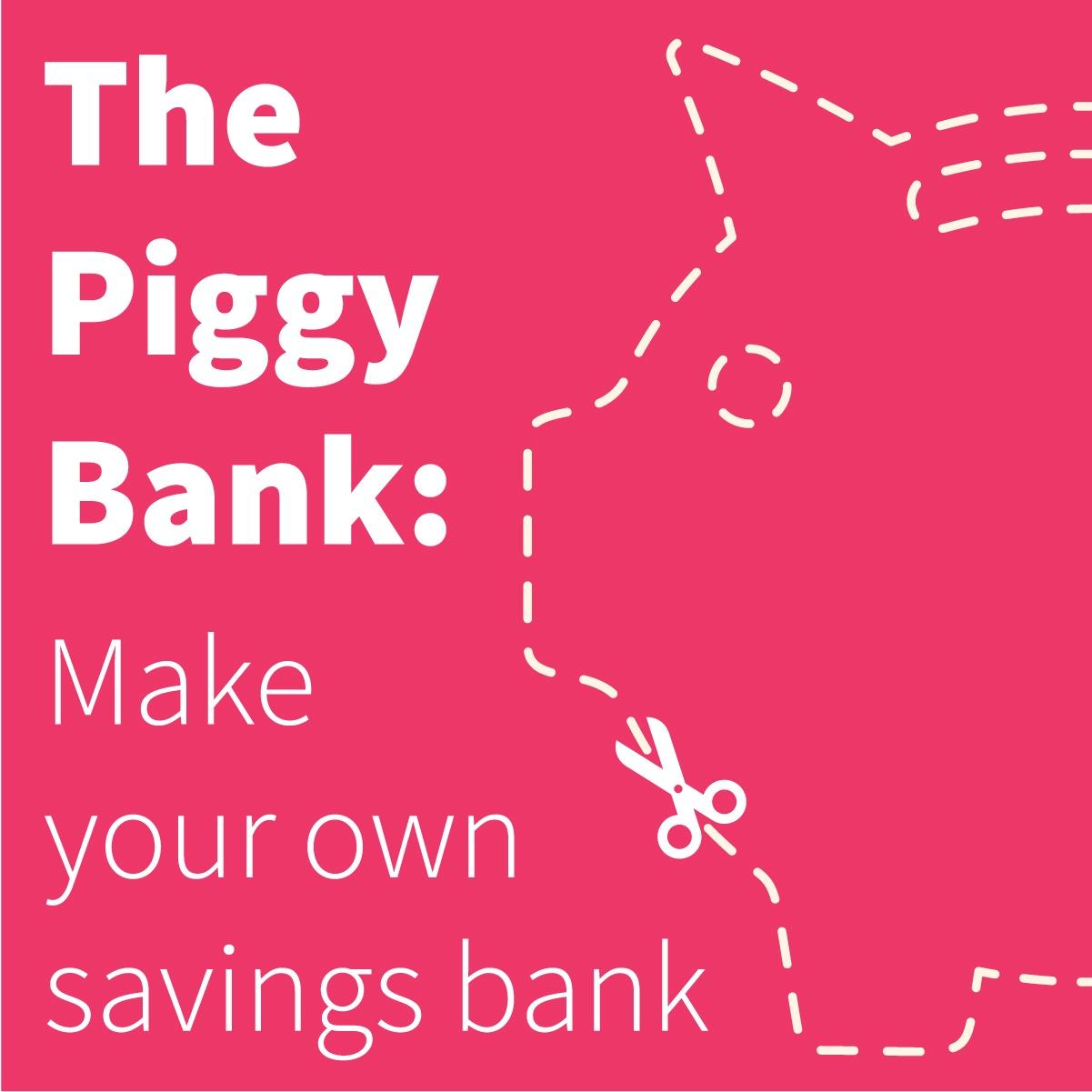 how to make piggy bank