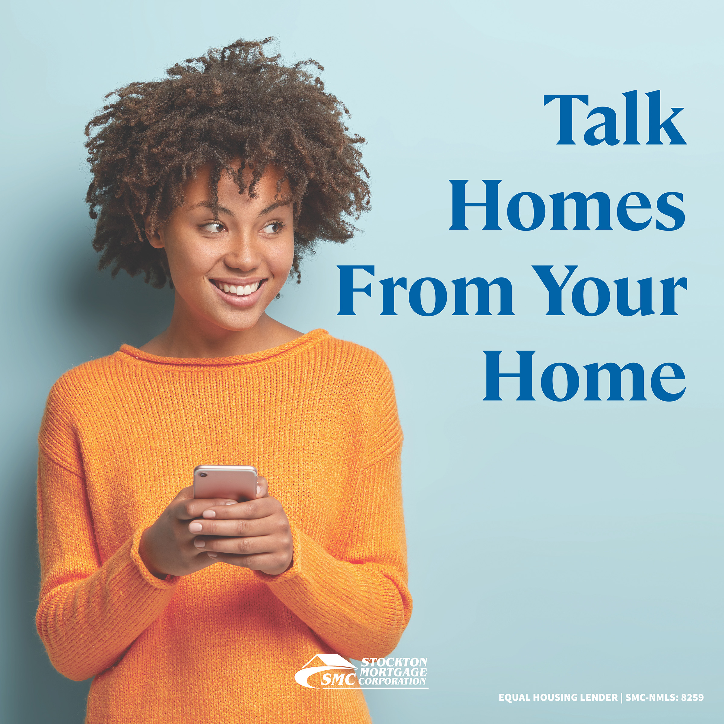 Talk homes from