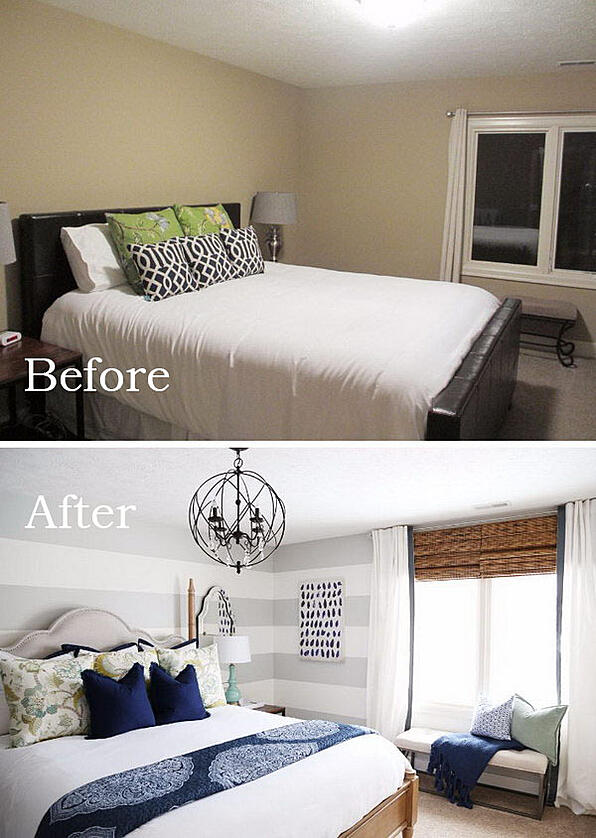 great ways to make your small bedroom look